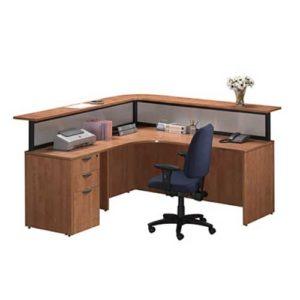 Premiera Borders Laminate Reception Desk