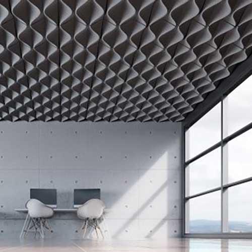Turf Mesh Ceiling Tile